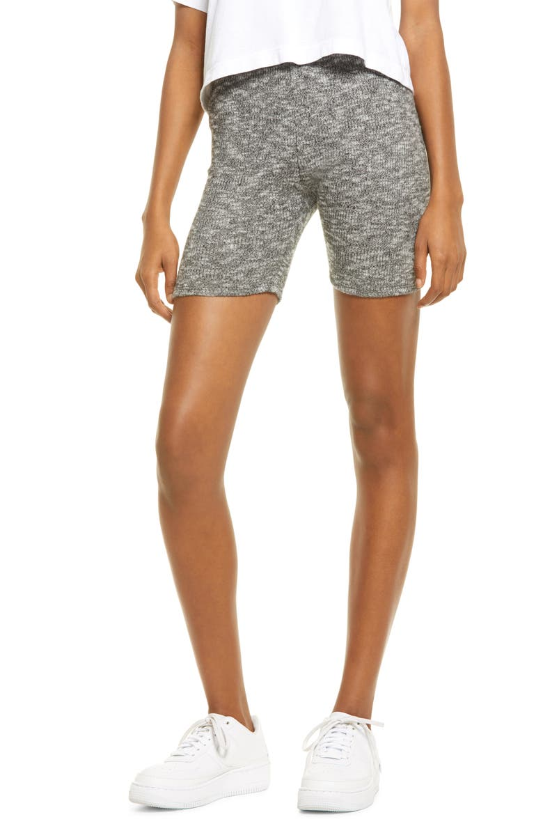 ALL IN FAVOR Knit Bike Shorts, Main, color, 020