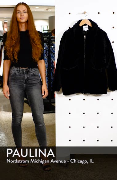 Contraband Quilted Velvet Jacket, sales video thumbnail
