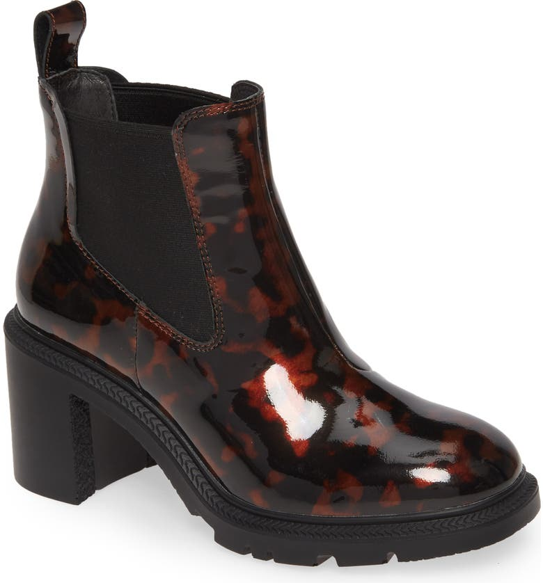 CAMPER Whitnee Chelsea Boot, Main, color, BURGUNDY LEATHER