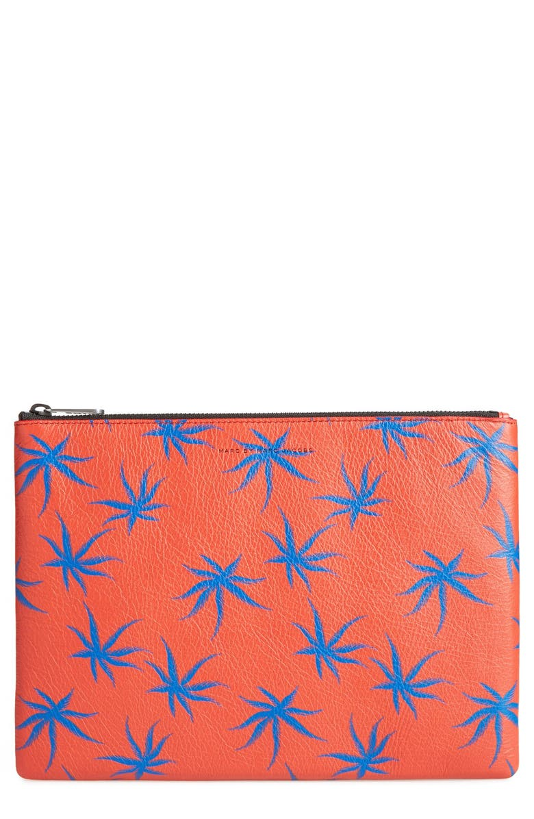 MARC BY MARC JACOBS Palm Print Travel Pouch, Main, color, 626
