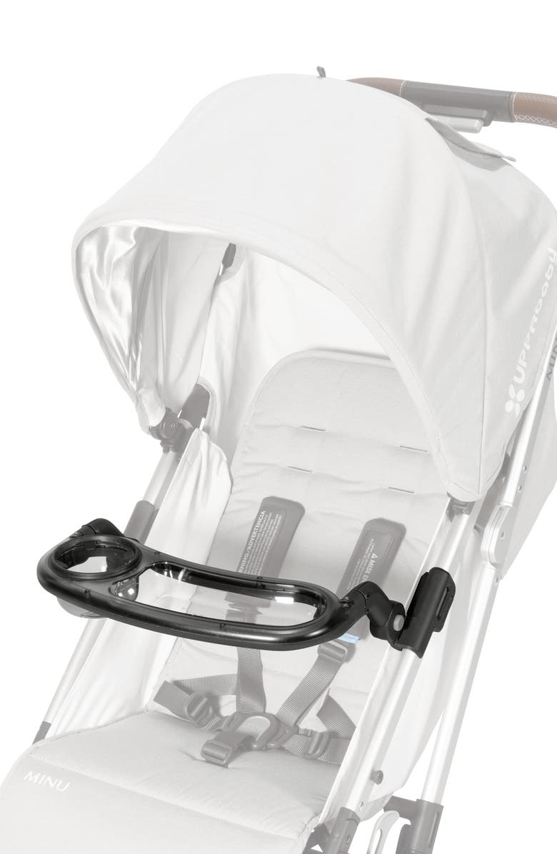 UPPABABY MINU Stroller Snack Tray, Main, color, CLEAR