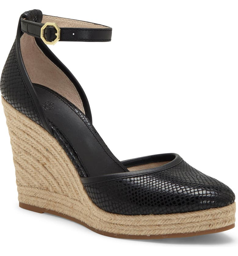 LOUISE ET CIE 'Palma' Espadrille Wedge, Main, color, 004