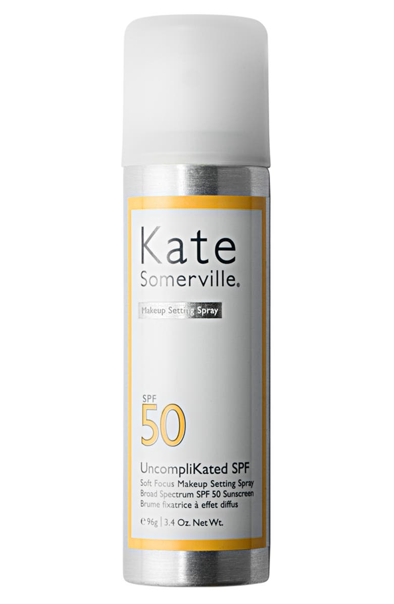 KATE SOMERVILLE<SUP>®</SUP> UncompliKated SPF Makeup Setting Spray SPF 50, Main, color, NO COLOR