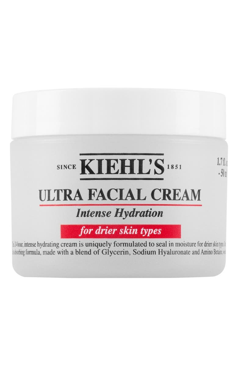 KIEHL'S SINCE 1851 'Ultra Facial' Cream Intense Hydration for Drier Skin Types, Main, color, No Color