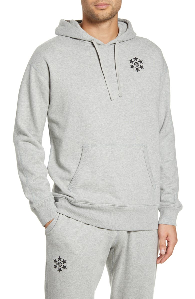 REIGNING CHAMP Relaxed Hooded Sweatshirt, Main, color, 060