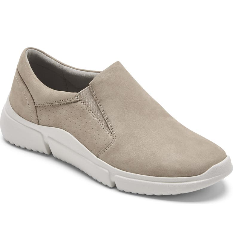 ROCKPORT Slip-On Sneaker, Main, color, DOVE NUBUCK