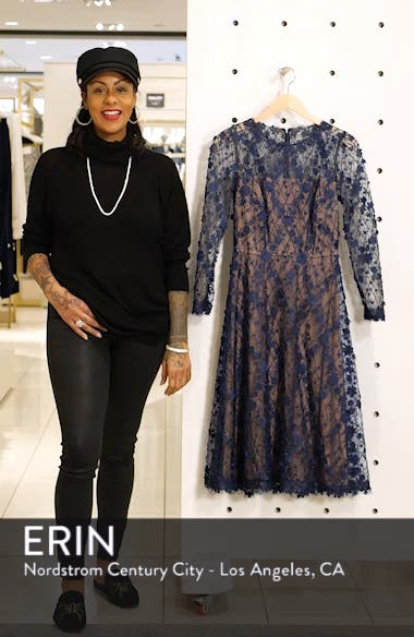 Long Sleeve Lace Cocktail Dress, sales video thumbnail