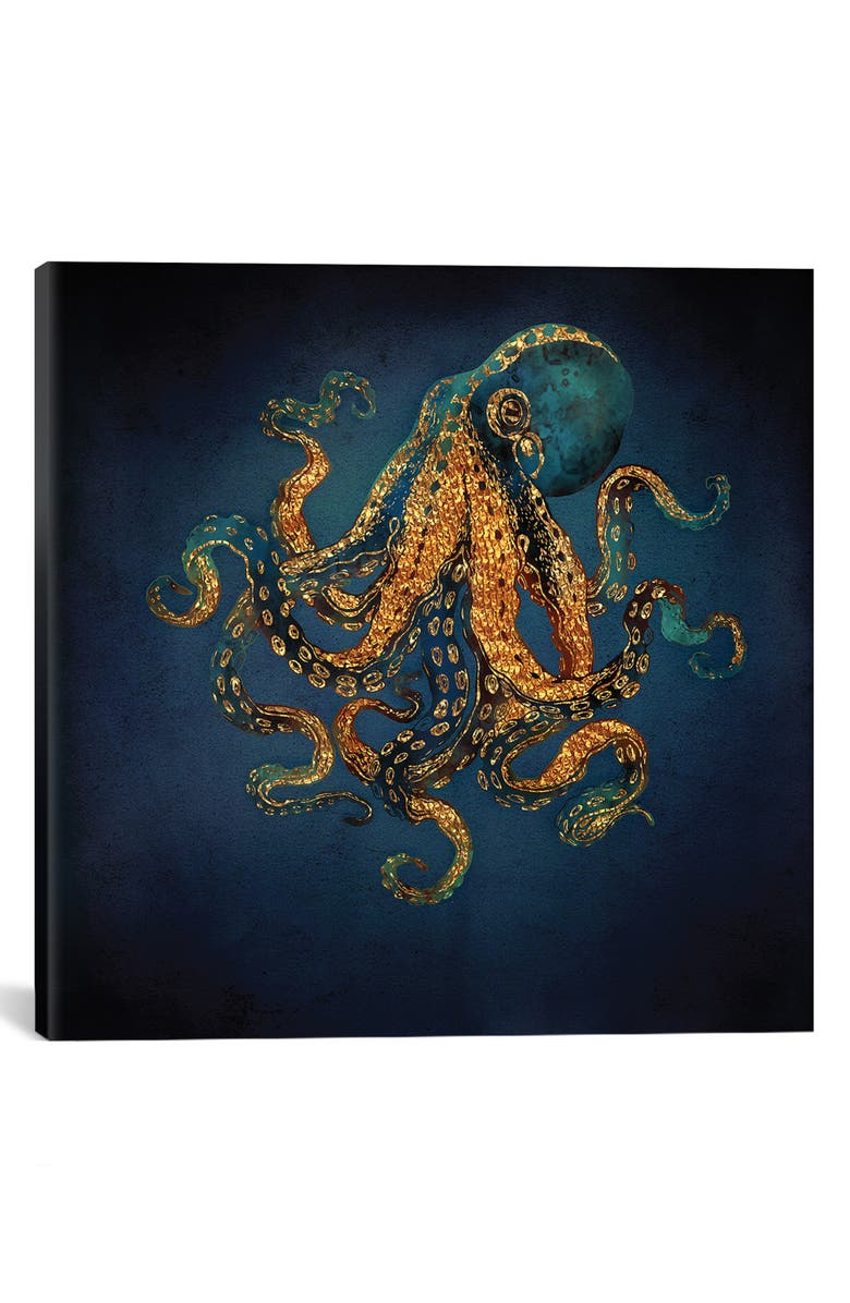 ICANVAS Underwater Dream IV by SpaceFrog Designs Giclée Print Canvas Art, Main, color, 400