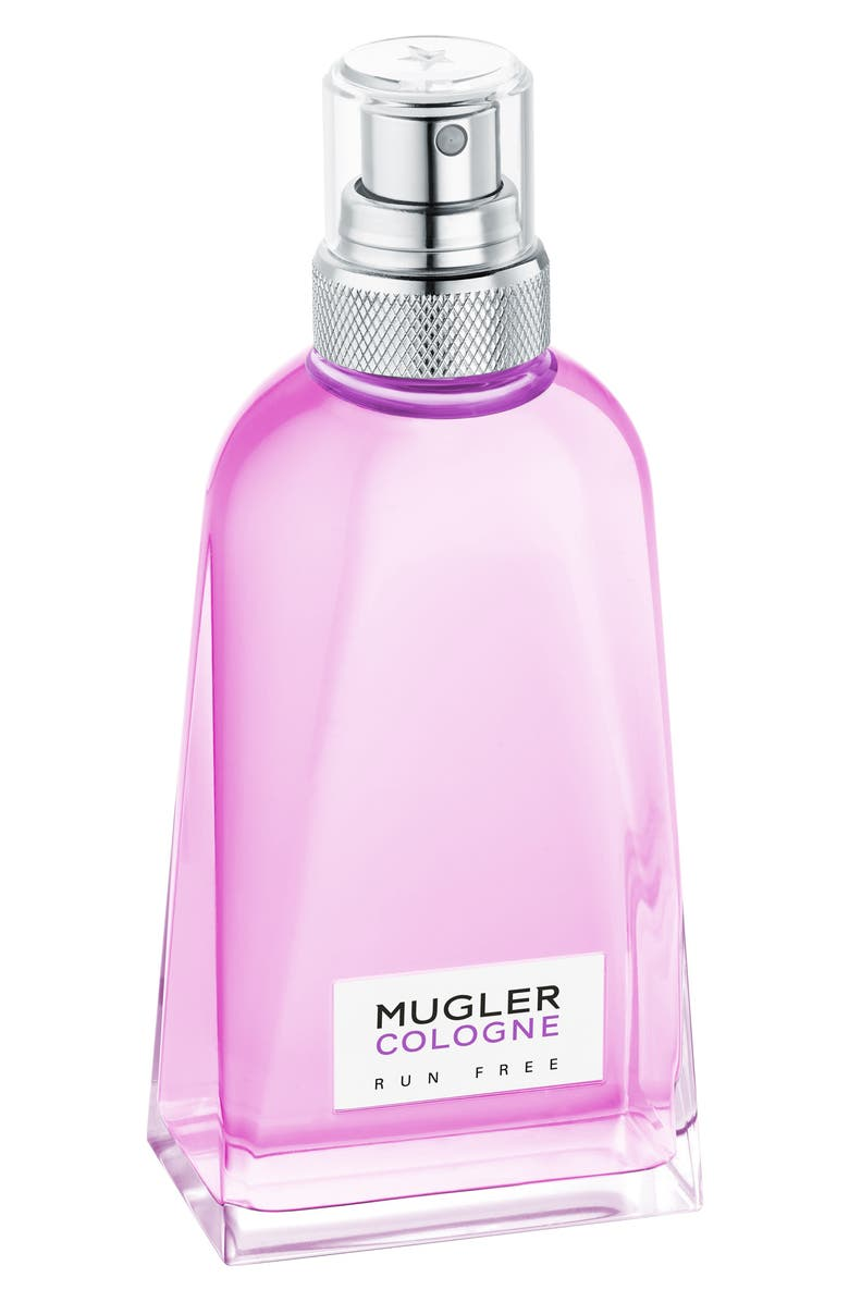 MUGLER Run Free Cologne, Main, color, 000
