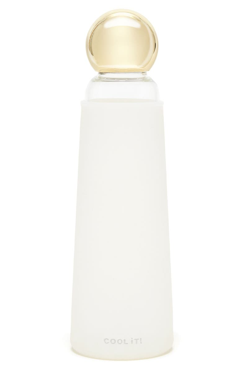 BAN.DO Glass Water Bottle, Main, color, 100