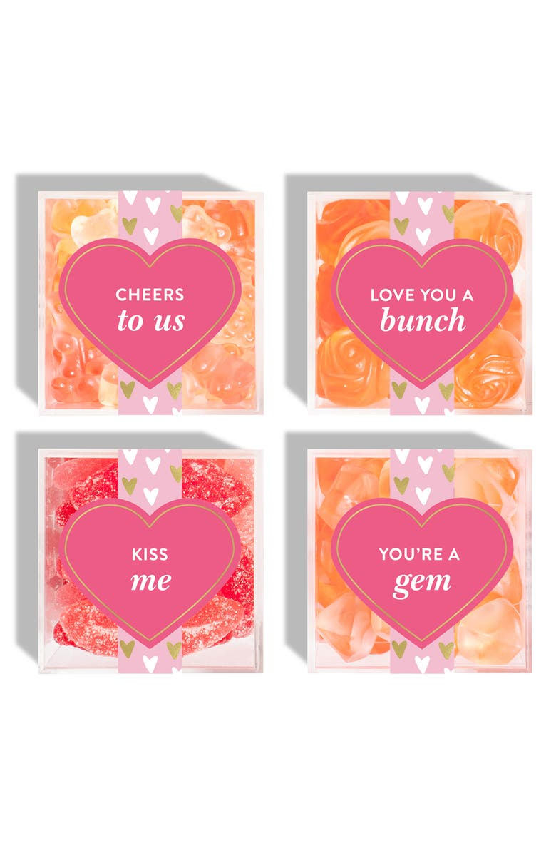 SUGARFINA Set of 4 Gimme Some Sugar Candy Cubes, Main, color, MULTI