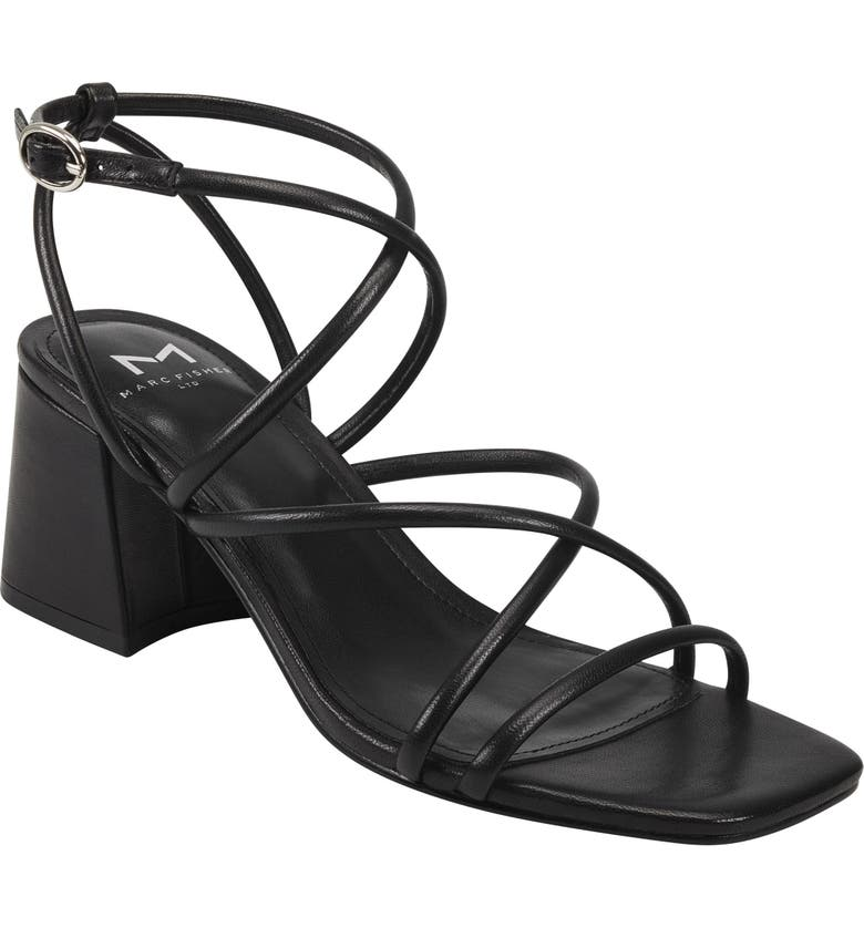 MARC FISHER LTD Nakita Sandal, Main, color, 001