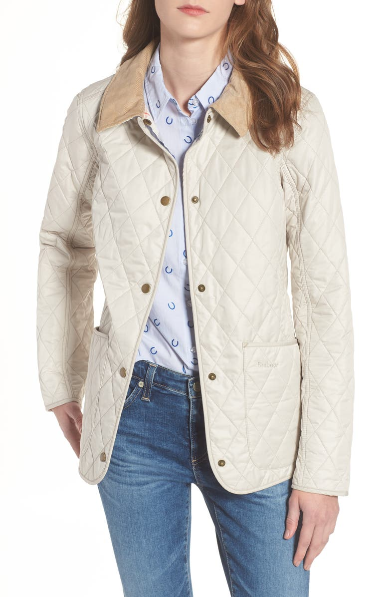 BARBOUR Spring Annandale Quilted Jacket, Main, color, MIST