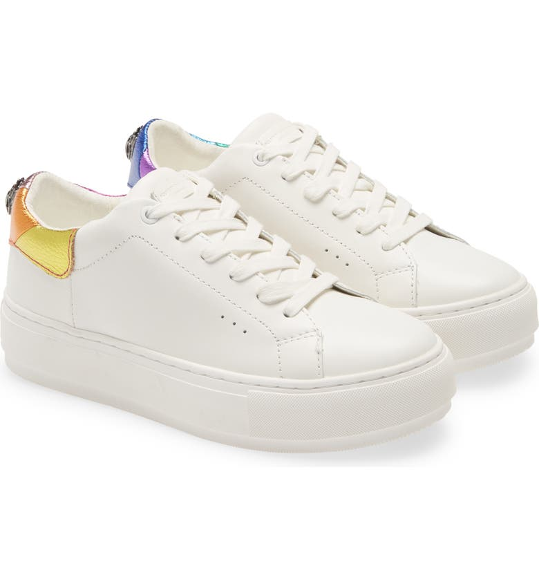 KURT GEIGER LONDON Rainbow Shop Laney Eagle Sneaker, Main, color, 169