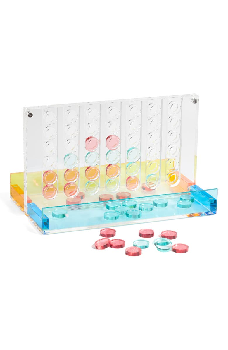 SUNNYLIFE 4-in-a-Row Lucite Game, Main, color, 960