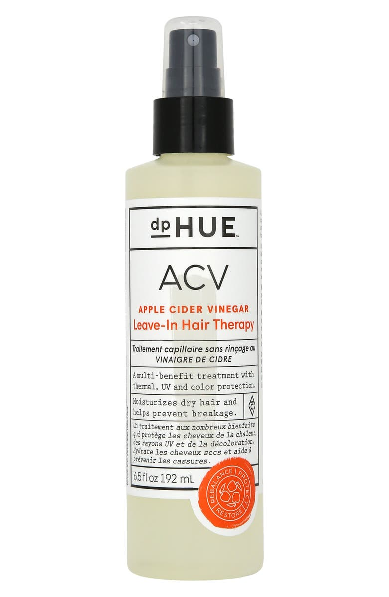 DPHUE Apple Cider Vinegar Leave-In Hair Therapy, Main, color, No Color
