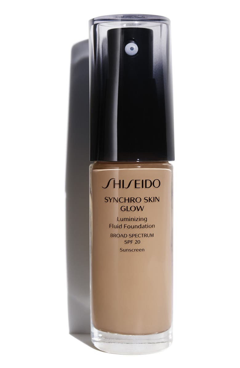 SHISEIDO Synchro Skin Glow Luminizing Fluid Foundation Broad Spectrum, Main, color, R5