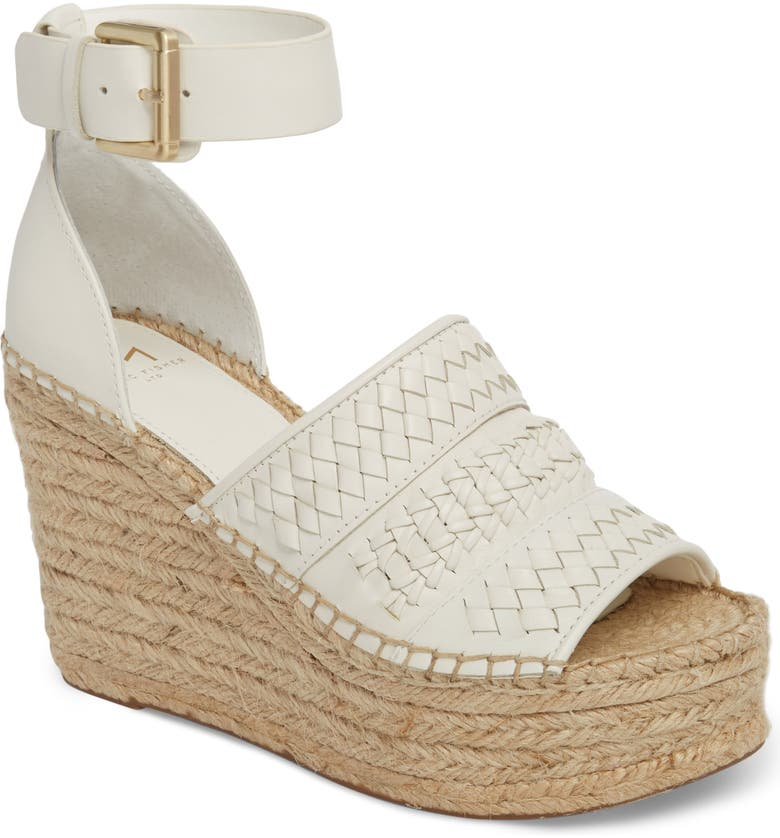 MARC FISHER LTD Alina Espadrille Wedge Sandal, Main, color, 123