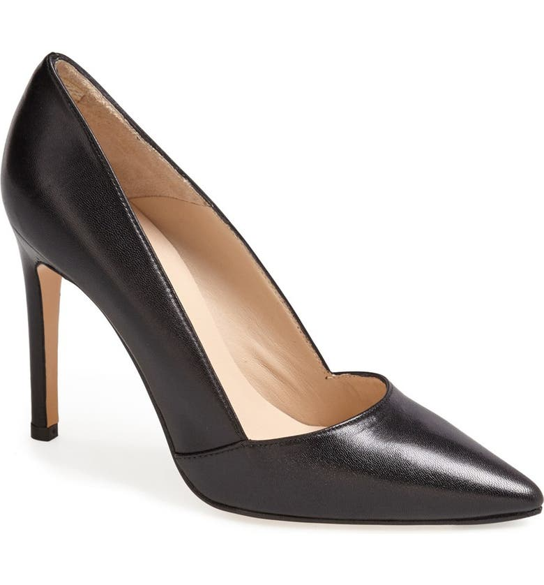 CHARLES BY CHARLES DAVID Charles David 'Passion' Pointy Toe Pump, Main, color, BLACK LEATHER