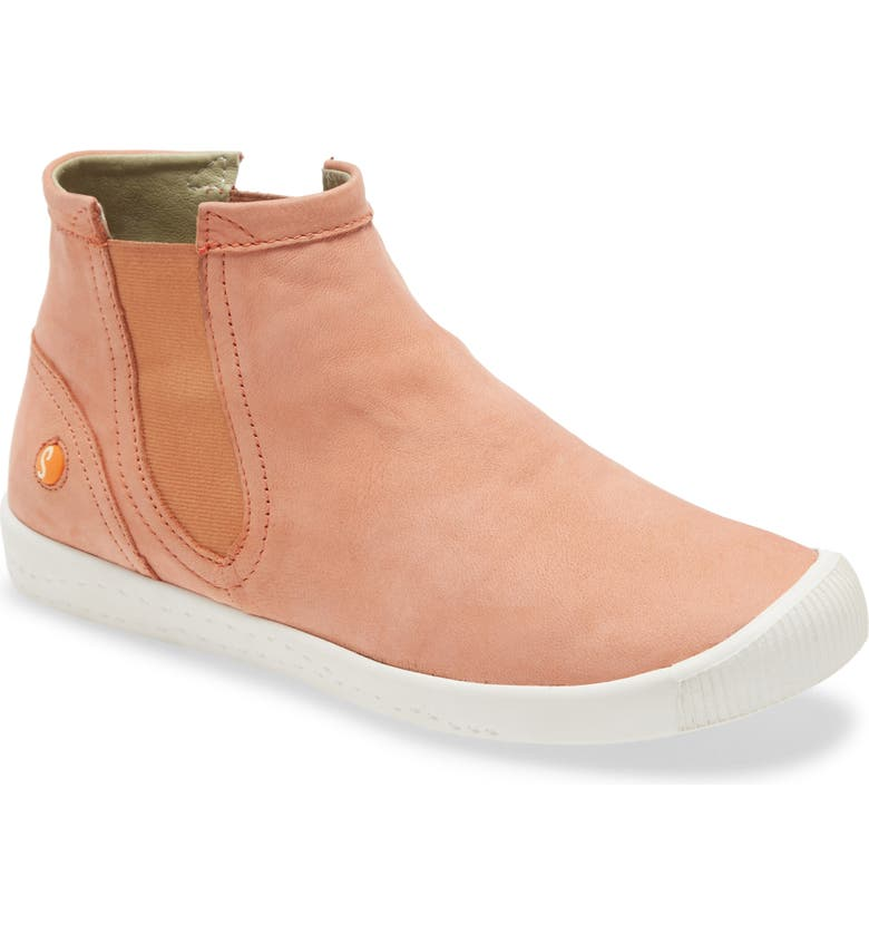 SOFTINOS BY FLY LONDON Ici Sneaker, Main, color, WARM PINK CUPIDO LEATHER