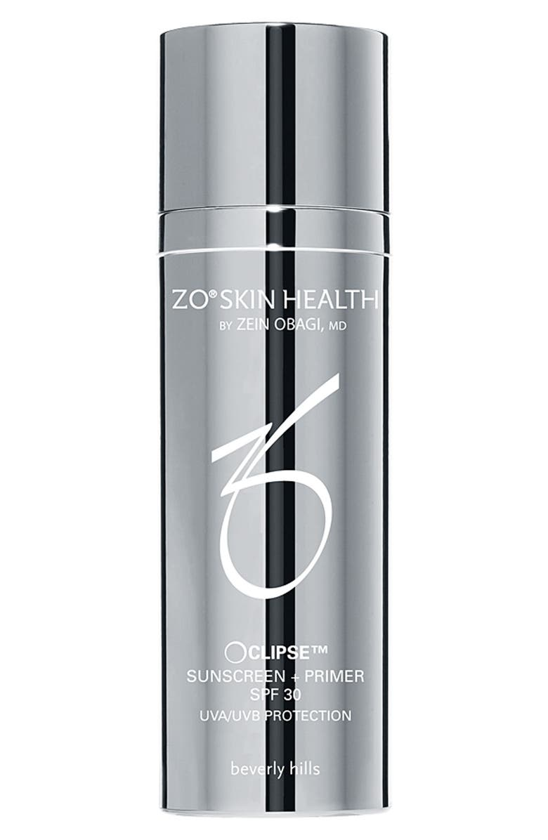 ZO<SUP>®</SUP> SKIN HEALTH ZO Skin Health<sup>™</sup> 'Oclipse<sup>™</sup>' Sunscreen + Primer SPF 30, Main, color, 000