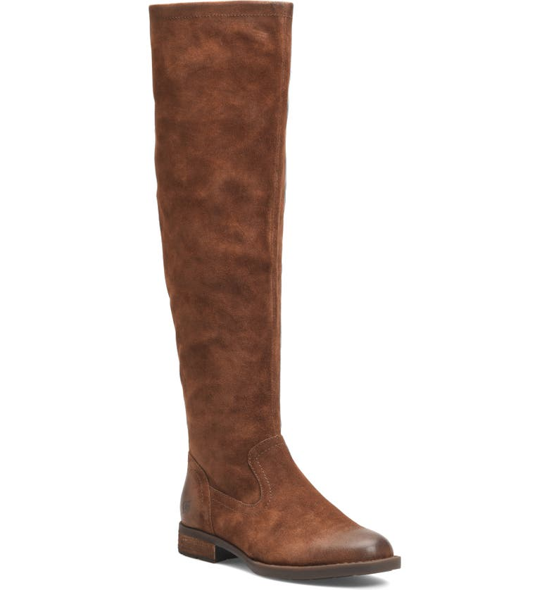 BØRN Borman Over the Knee Boot, Main, color, RUST DISTRESSED LEATHER