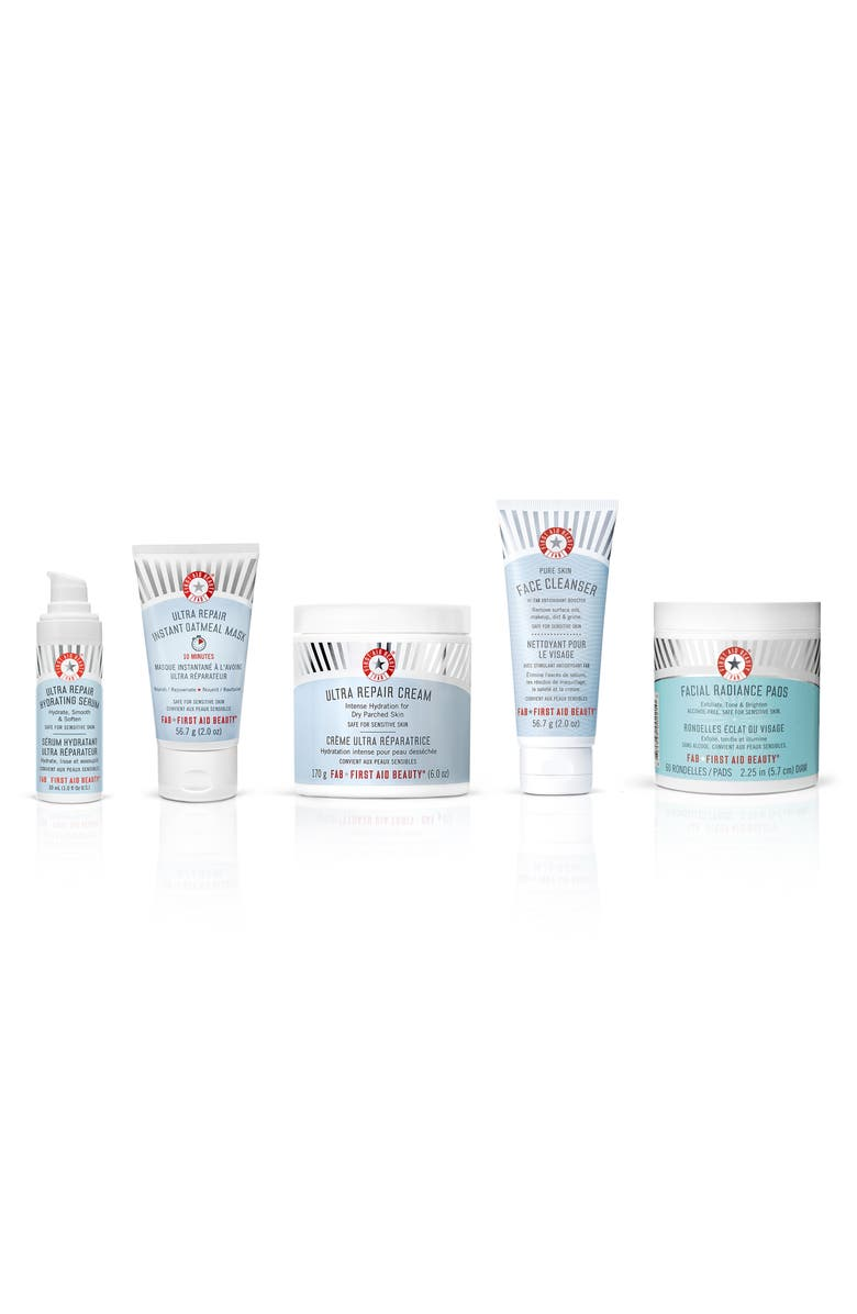 FIRST AID BEAUTY FAB All The Way Skin Care Bestsellers Set, Main, color, 000