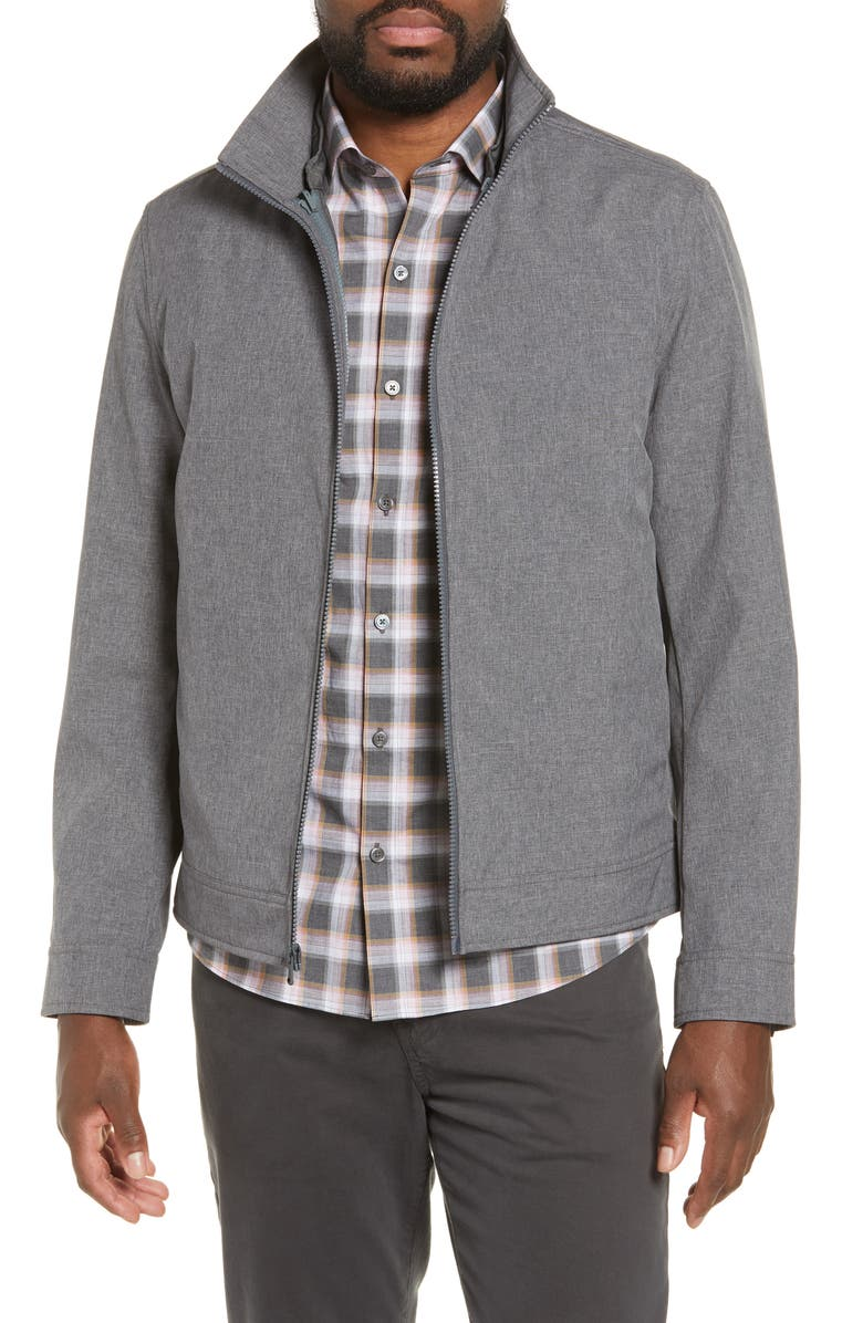 ZACHARY PRELL Oxford 2-in-1 Jacket, Main, color, GREY
