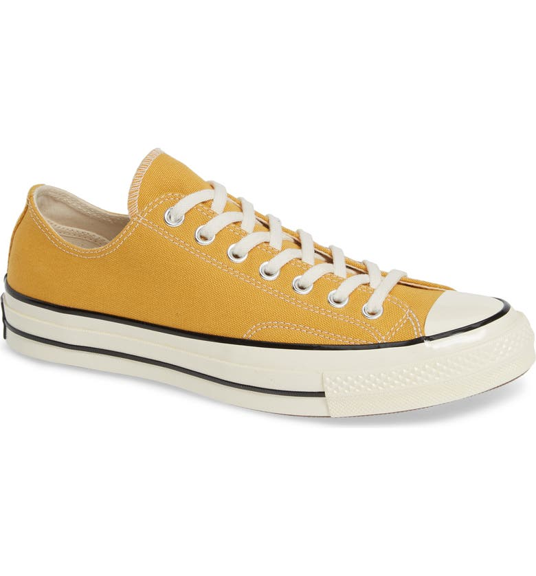 CONVERSE Chuck Taylor<sup>®</sup> All Star<sup>®</sup> 70 Sneaker, Main, color, SUNFLOWER/ BLACK/ EGRET