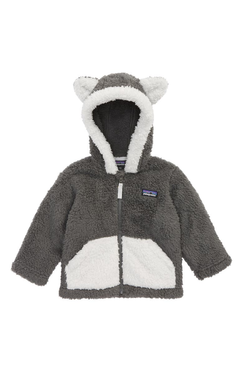 PATAGONIA Furry Friends Fleece Hoodie, Main, color, 020