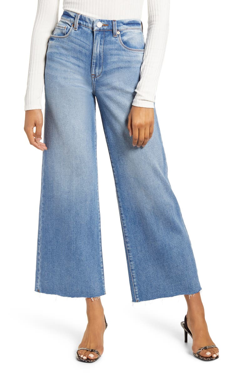 BLANKNYC After Party Wide Leg Jeans, Main, color, 426
