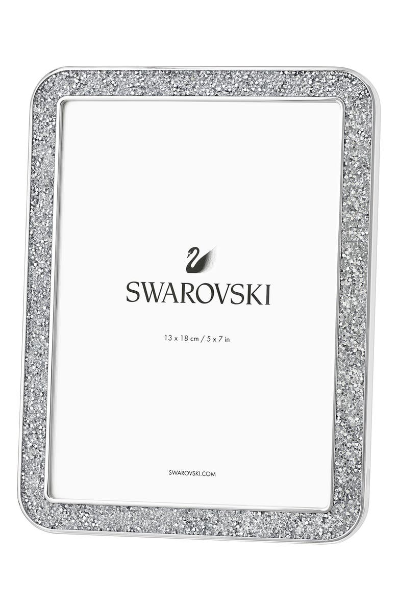 SWAROVSKI Minera Crystal Picture Frame, Main, color, 040
