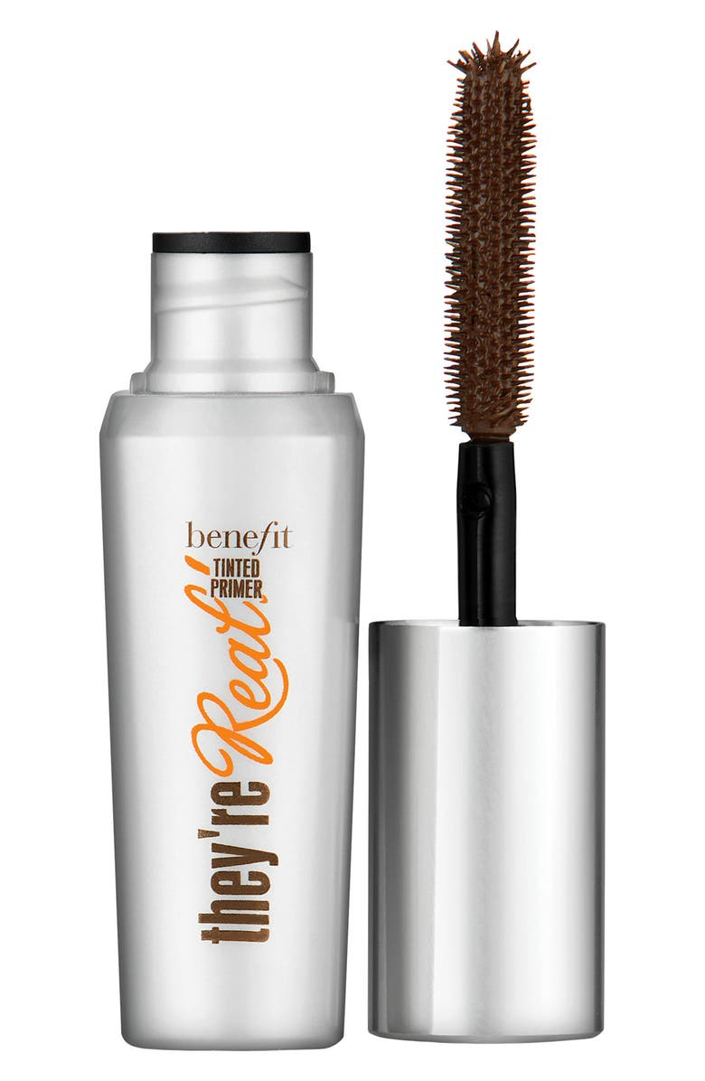 BENEFIT COSMETICS Benefit They're Real! Tinted Lash Primer, Main, color, MINK BROWN