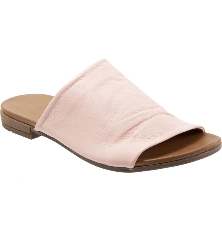 BUENO Turner Slide Sandal, Main, color, PALE PINK LEATHER