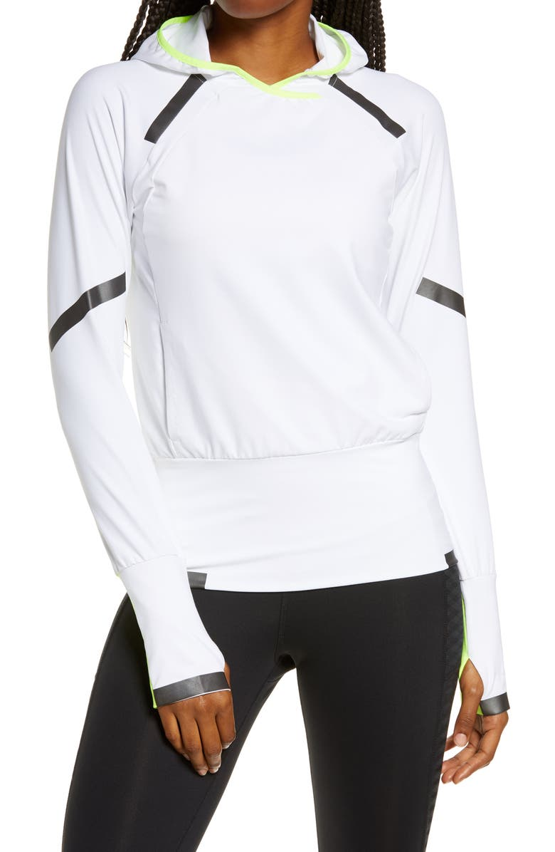 BROOKS Carbonite Hooded Pullover, Main, color, 753