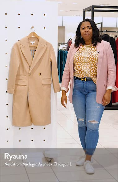 Classic Double Breasted Coat, sales video thumbnail