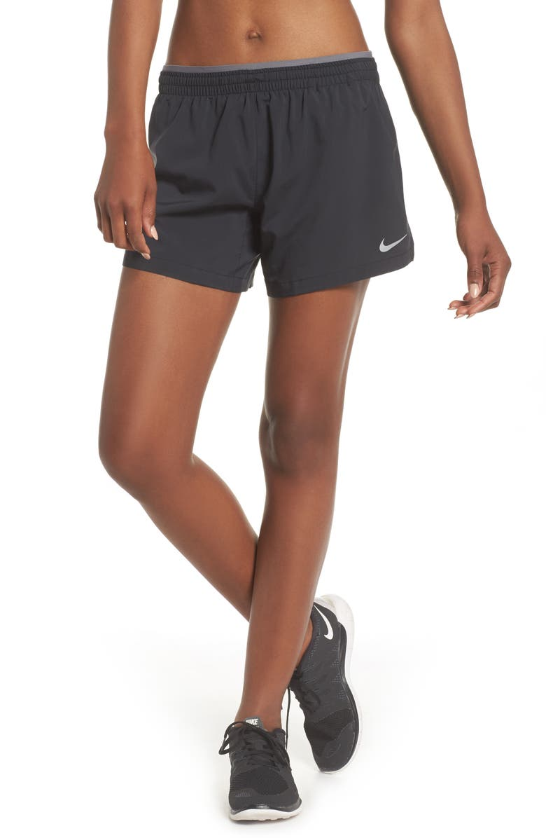 NIKE Flex 5-Inch Inseam Running Shorts, Main, color, 010