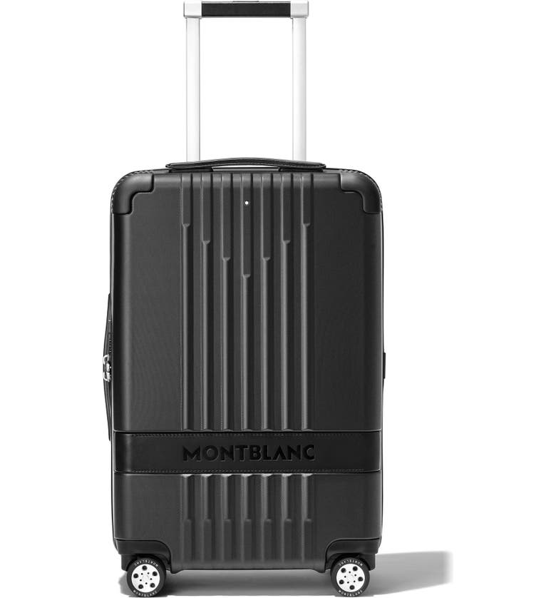 MONTBLANC MY4810 21-Inch Cabin Compact Carry-On, Main, color, BLACK