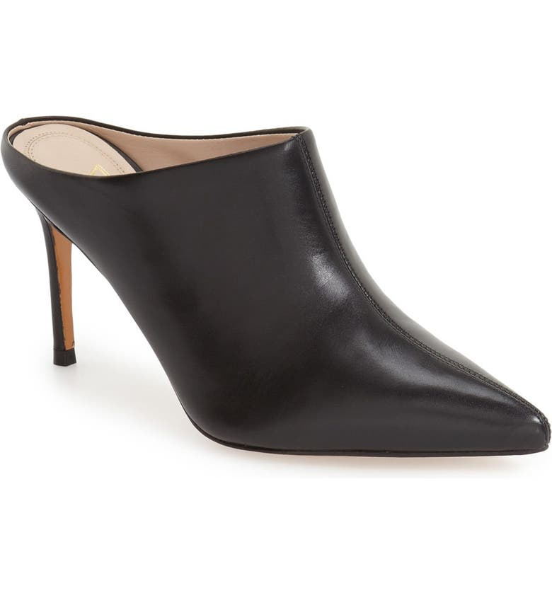 MARC FISHER LTD 'Tiffy' Pointy Toe Mule, Main, color, 001