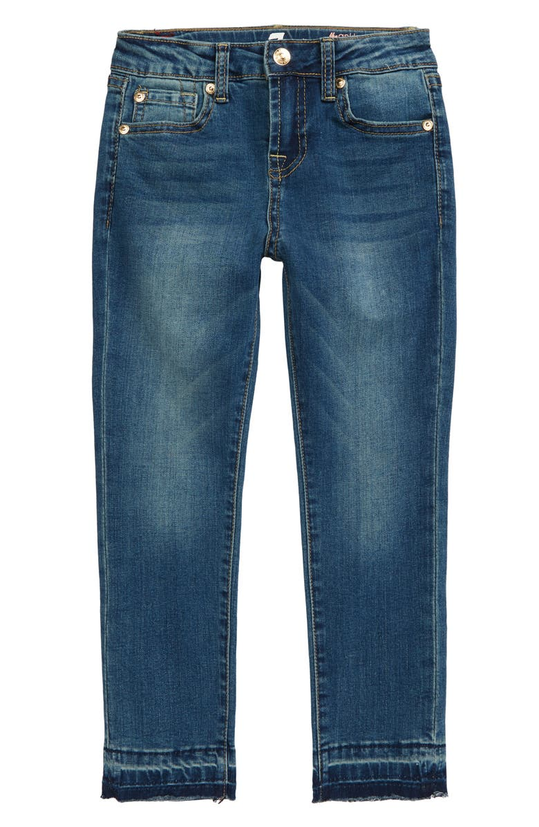 7 FOR ALL MANKIND<SUP>®</SUP> The Ankle Released Hem Skinny Jeans, Main, color, SERATOGA BAY
