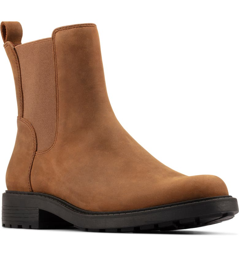 CLARKS<SUP>®</SUP> Orinoco2 Boot, Main, color, BROWN SNUFF LEATHER