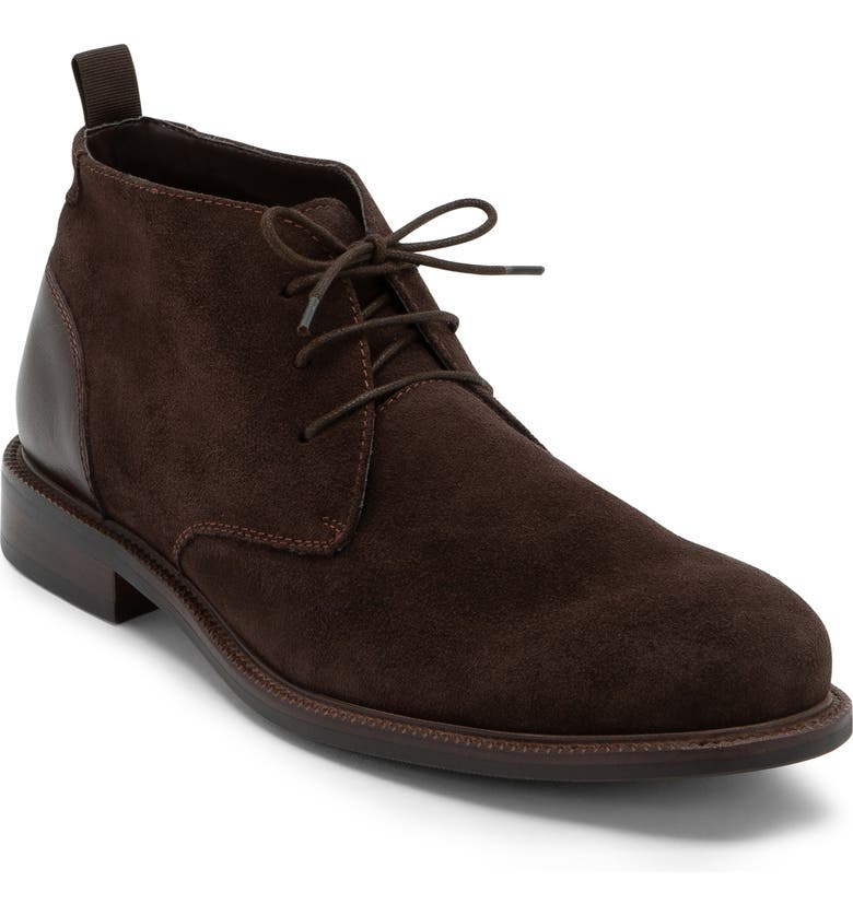 BLONDO Konor Waterproof Chukka Boot, Main, color, BROWN SUEDE