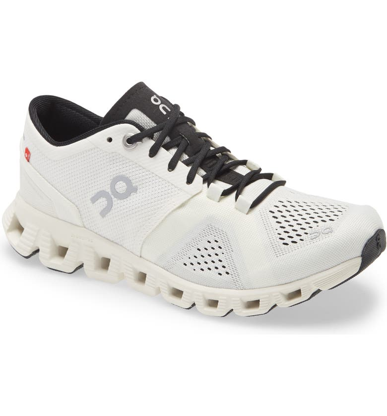 ON Cloud X Training Shoe, Main, color, WHITE/ BLACK / BLACK