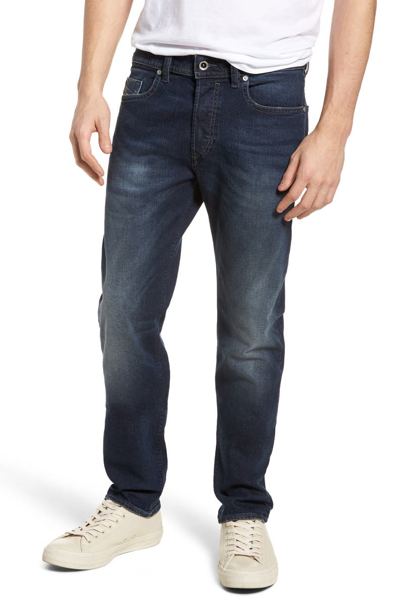 DIESEL<SUP>®</SUP> Buster Slim Straight Leg Jeans, Main, color, 400