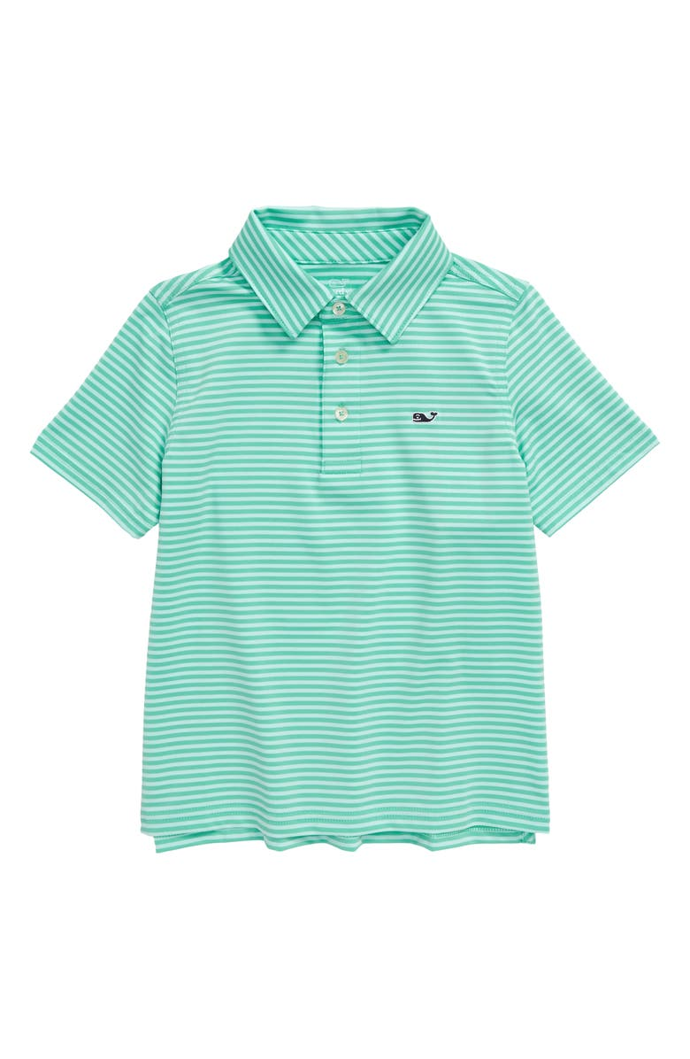 VINEYARD VINES Feeder Stripe Performance Polo, Main, color, 300