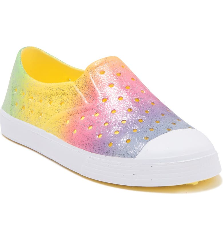 HARPER CANYON Surf Perforated Slip-On Sneaker, Main, color, PASTEL RAINBOW MULTI