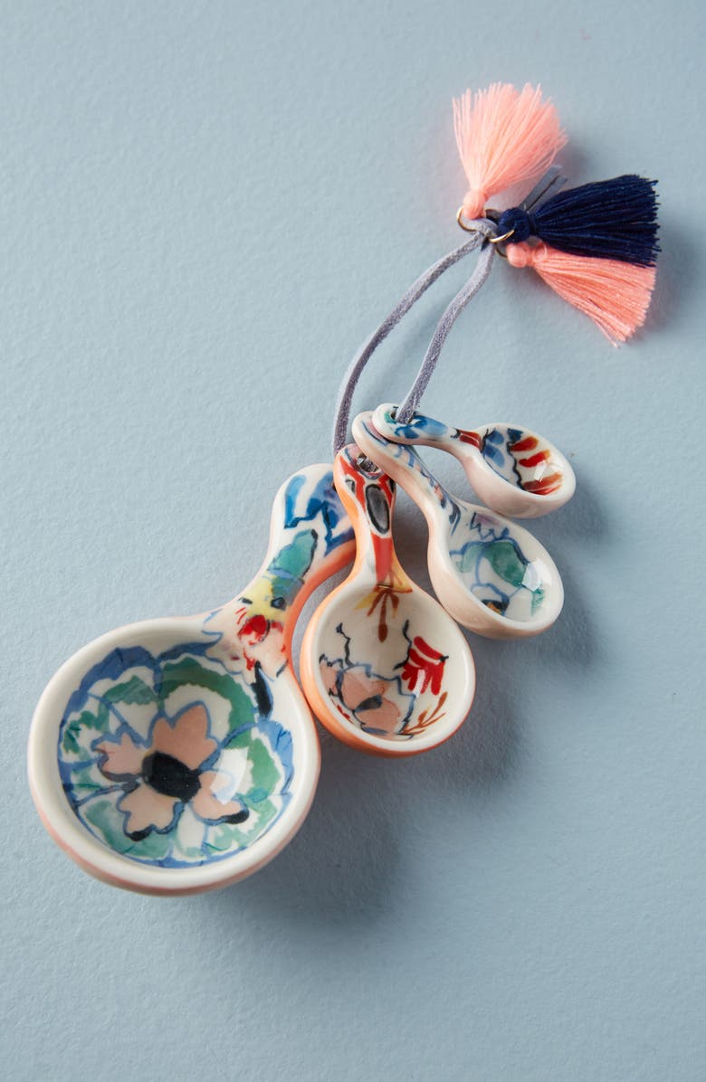 ANTHROPOLOGIE HOME Anthropologie Eres Measuring Spoons, Main, color, 404