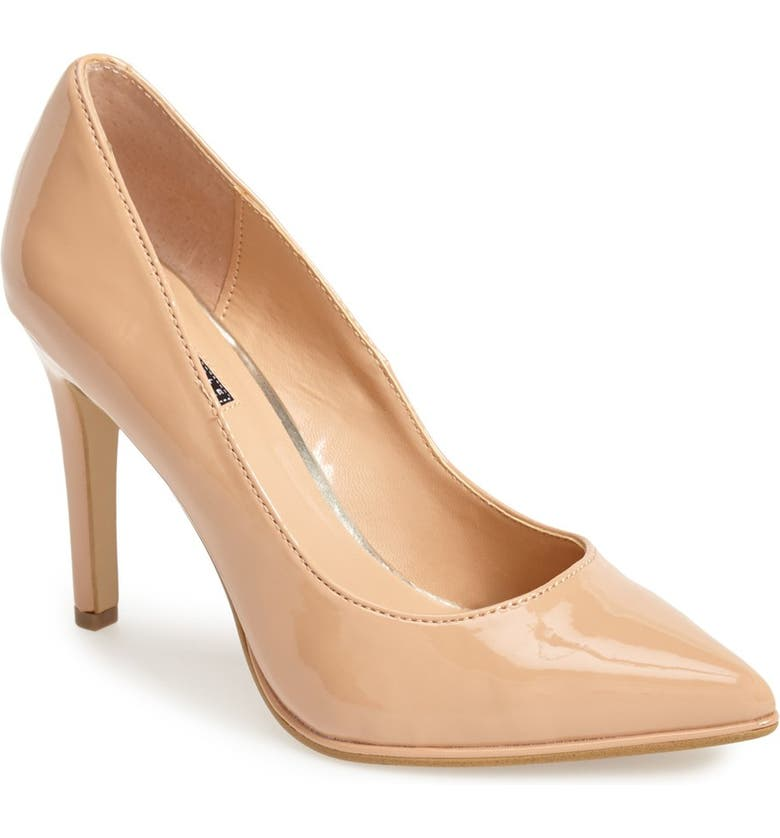 REACTION KENNETH COLE Kenneth Cole Reaction 'Bee Buzz' Pump, Main, color, CLAY PATENT