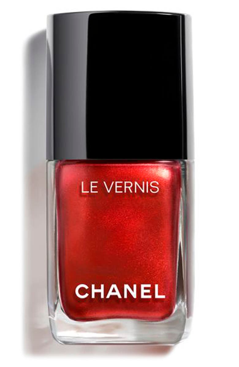 CHANEL LE VERNIS <br />Longwear Nail Colour, Main, color, 887 METALLIC BLOOM