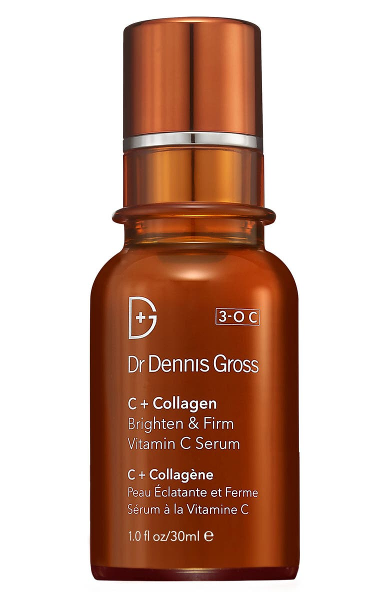 DR. DENNIS GROSS Skincare C+ Collagen Brighten & Firm Vitamin C Serum, Main, color, No Color